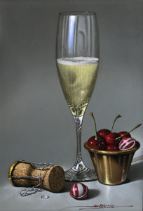 champagne-and-cherries