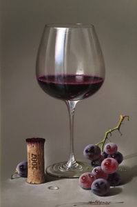 javier-mulio-red-wine-and-grapes-2007