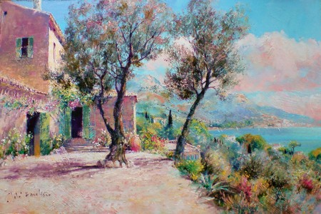 JOHN-DONALDSON---MAS-COTE-SUD-a-farmhouse-on-the-french-riviera-12-x-18