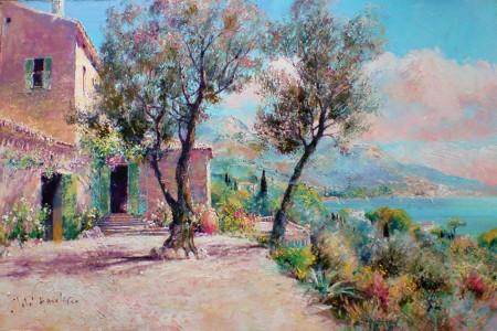 JOHN-DONALDSON---MAS-COTE-SUD-a-farmhouse-on-the-french-riviera-12-x-18