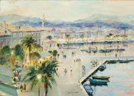 JOHN-DONALDSON---PROVENCE-BY-THE-SEA-Sanary-sur-Mer-near-Toulon-13-x-18