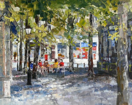 JOHN-SIBSON---CROWN-PLACE-HARROGATE-OIL-ON-CANVAS-17.5-x-14-£1195