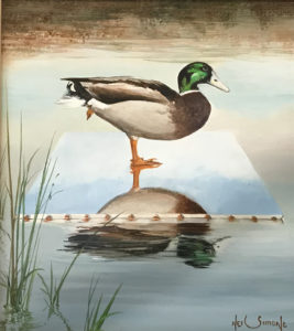 mallard-on-canvas