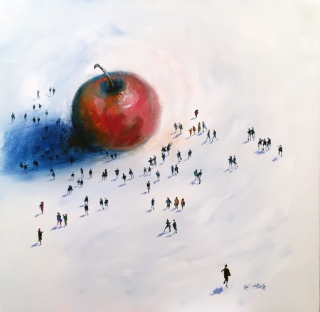 NEIL MCBRIDE - THE BIG APPLE 24 x 24 £995