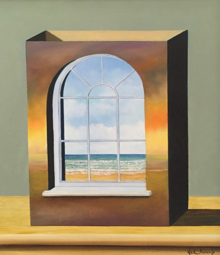 NEIL SIMONE - THE SEA VIEW WINDOW BOX £1670