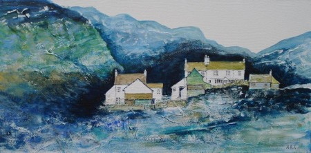 The-Langdales-Cumbria-Acrylic-on-Canvas-60x30cm-signed