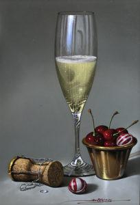 champagne-and-cherries