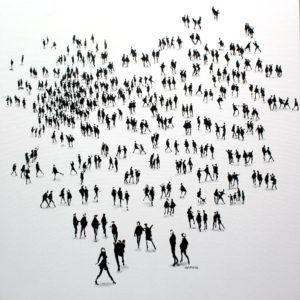 High Society - 36 x 36