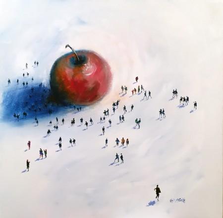 NEIL MCBRIDE - THE BIG APPLE 24 x 24 £995