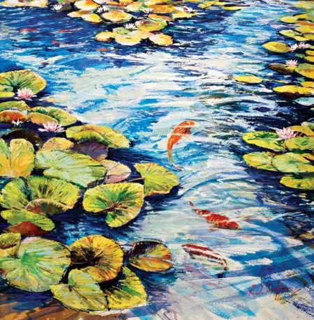 ROBERT-DUTTON---BRIGHT-REFLECTIVE-WATERS-18-x-17-£725