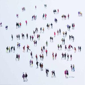 'Social Distancing' 24 x 24